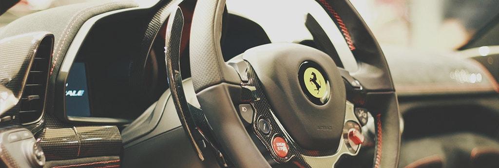 Поездка на машине мечты