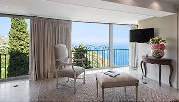 Hôtel à Eze 5 étoiles Château de le Chèvre d'Or - Côte d'Azur