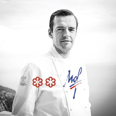 Chef Arnaud Faye, at the peak of his art