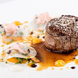 Filet de boeuf angus - Restaurant les Remparts