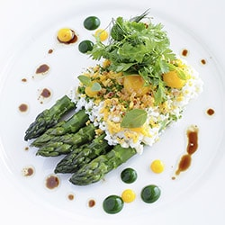 Asparagus - Restaurant les Remparts