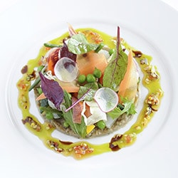 Vegetable salad - Restaurant les Remparts