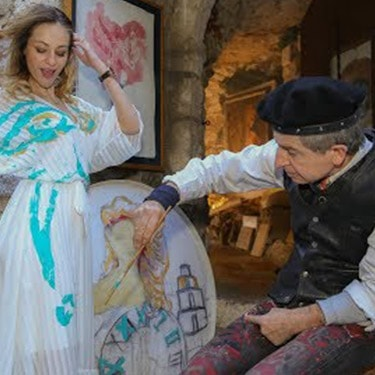 Art and Cocktails in the Medieval Village of Eze