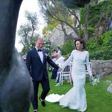 A French Riviera wedding at Château de la Chèvre d'Or